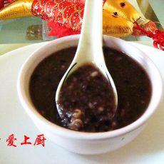 燕麦紫米粥