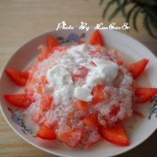 西米酸奶捞―冰雪火焰山