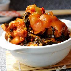 酸菜炖猪蹄的做法