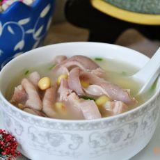黄豆猪肚汤的做法