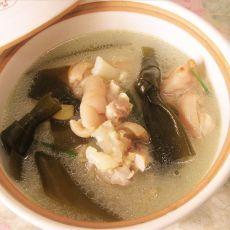 猪蹄海带汤