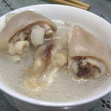 原味猪蹄汤的做法
