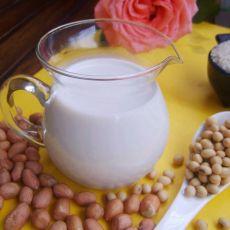 花生牛奶大米汁