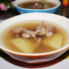 青木瓜花生猪骨汤