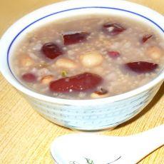 大枣花生杂粮粥的做法