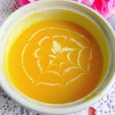 南瓜牛奶浓汤