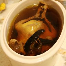 灵芝鸽子汤的做法