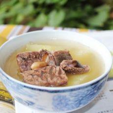 牛腱木瓜汤