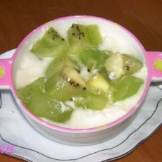 【维生素】自制大果粒酸奶