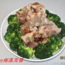 花生莲藕猪蹄冻的做法