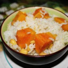 黄豆地瓜饭