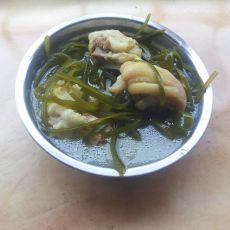 海带猪蹄汤的做法