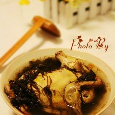 发菜鸽子汤的做法