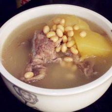 木瓜黄豆煲排骨的做法