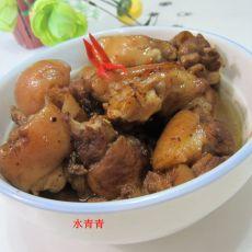 豆香咖喱猪蹄
