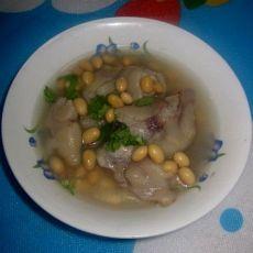 猪手黄豆汤