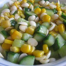 杏仁玉米的做法