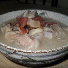 咸肉猪蹄汤