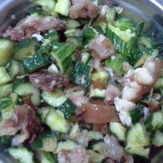 黄瓜拌猪蹄的做法