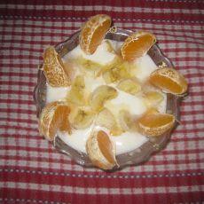 橘子香蕉大果粒酸奶
