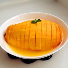 橙汁木瓜红枣蒸