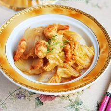 虾仁白菜的做法