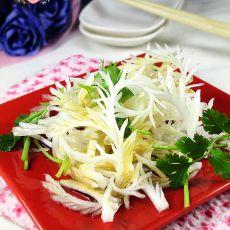 糖醋凤尾白菜的做法