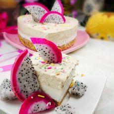 火龙果双色慕斯蛋糕
