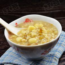 绿豆薏仁莲子粥