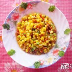 松仁玉米―地道的东北菜的做法