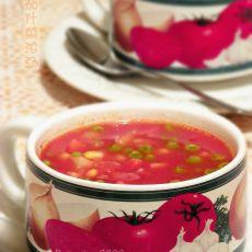 番茄什菜浓汤