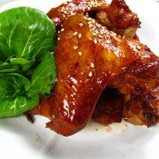 腐乳香烤鸡翅的做法
