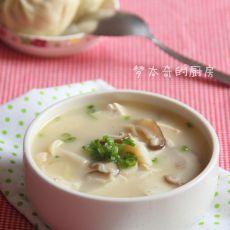 鱼头豆腐菌菇汤的做法