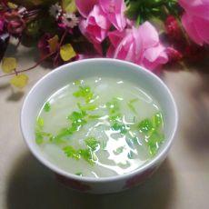 白萝卜丝汤的做法