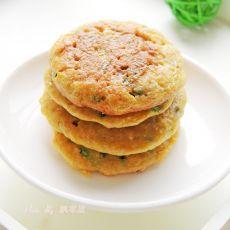 葱花鸡蛋燕麦饼的做法