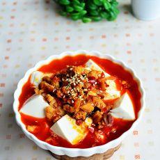 鸡米捞豆腐的做法