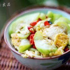 丝瓜焖荷包蛋