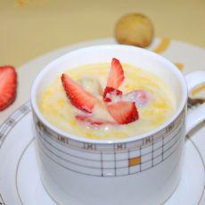 鲜果奶露的做法