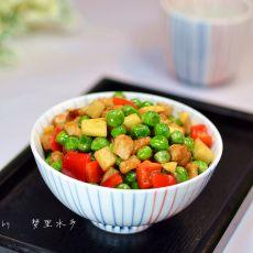 甜豌豆炒冬笋的做法