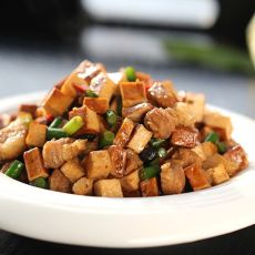 豆豉炒香干的做法