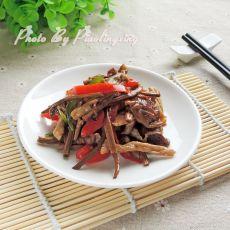 茶树菇干炒肉
