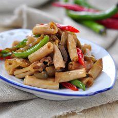 榨菜炒鸭肠的做法