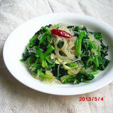 qmtqg分享:菠菜粉丝