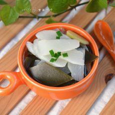 随心者-Tina分享:白萝卜海带汤