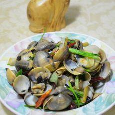 豆豉香辣炒花蛤