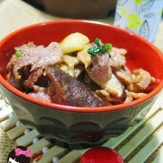 花菇炒肉片的做法