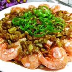 蒜蓉粉丝蒸北极虾