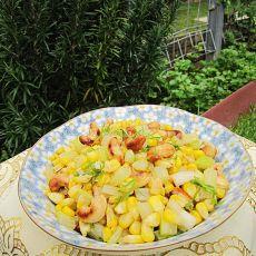 玉米腰果小炒的做法
