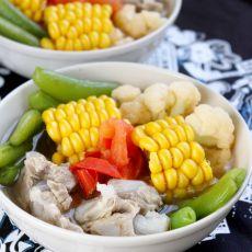 杂蔬排骨汤的做法