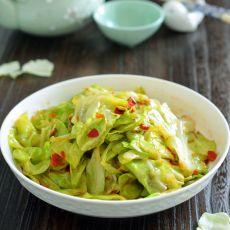 剁椒圆白菜的做法